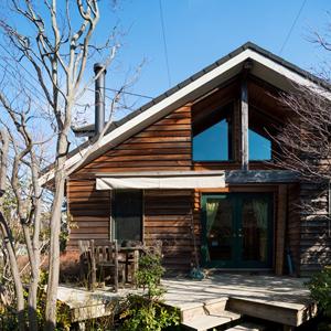 家づくり事例集:男が惚れる木の家のイメージ